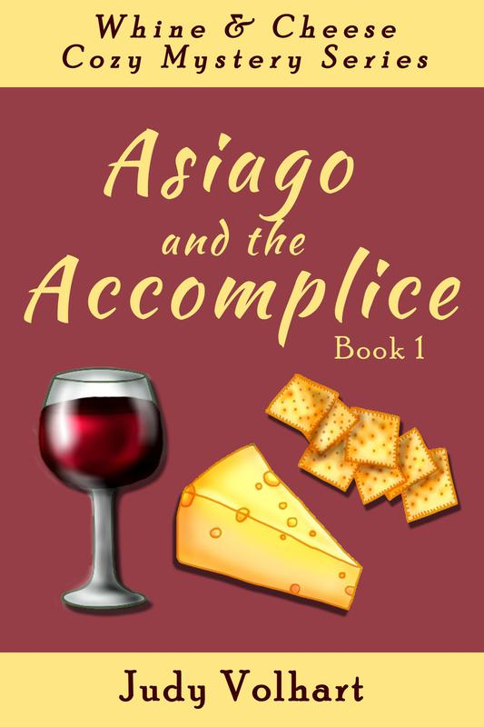 Asiago and the Accomplice by Judy Volhart