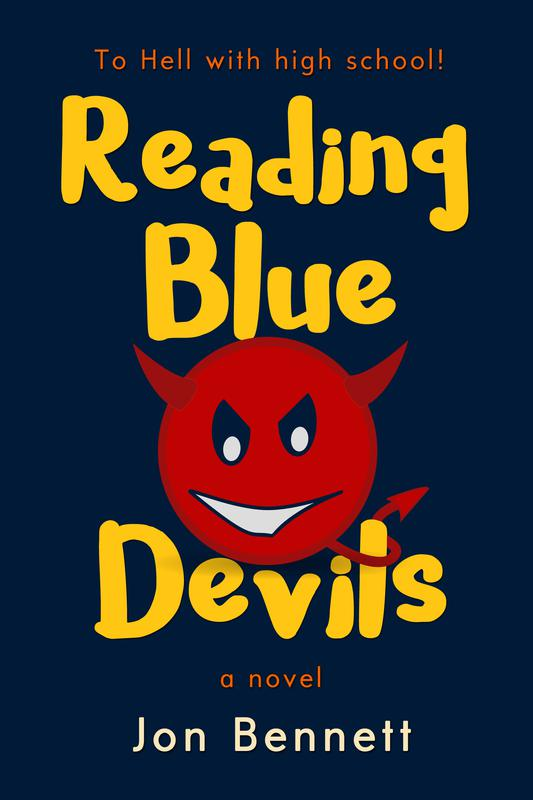 Reading Blue Devils: A Novel by Jon Bennett